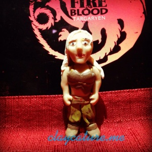Daenerys Targaryen in Polymer Clay