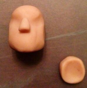 Khal Drogo Polymer Clay Step 12