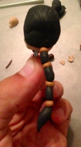 Khal Drogo Polymer Clay Step 16
