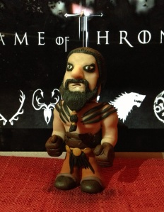 Khal Drogo Polymer Clay Step 18 finished