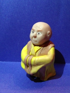 Varys in polymer clay from Game of Thrones