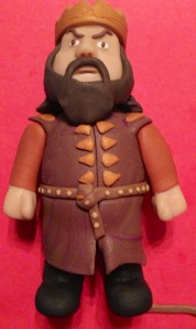 Robert Baratheon in Polymer Clay step-by-step guide