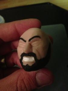 Gregor Clegane Face Clay 5