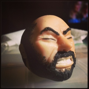 Gregor Clegane Face Clay 6