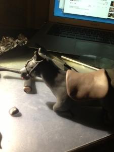 Gregor Clegane Horse Clay 14