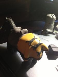 Gregor Clegane Horse Clay 18