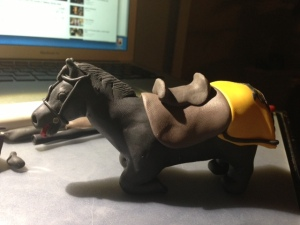 Gregor Clegane Horse Clay 19