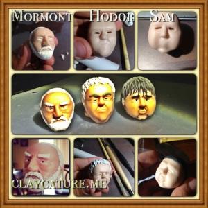 Hodor Mormont Sam