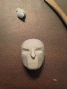 how to make white walker in clay