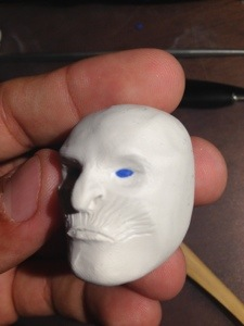 making white walker in clay