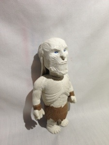 white walker in polymer clay full body