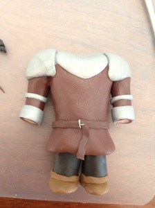 Robb Stark belt in Polymer Clay